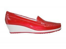 ENVAL SOFT  7933300 Mocassino Vernice Rosso