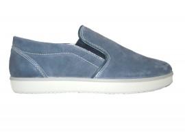 IGI&CO Slip-on Camoscio Blu