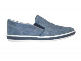 IGI&CO 7686300 Slip-on Camoscio Blu