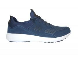 LUMBERJACK Sneaker Camoscio Blu