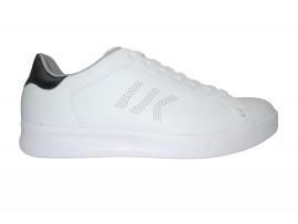 LUMBERJACK Sneaker Pelle Bianco