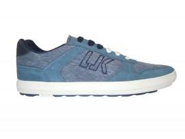 LUMBERJACK Sneaker Nabuk Blu