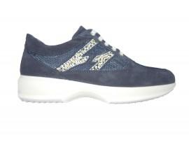 IGI&CO 7767000 Sneaker Camoscio Blu