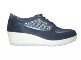 IGI&CO 7758500 Sneaker Camoscio Blu
