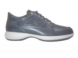IGI&CO 7693100 Sneaker Pelle Blu