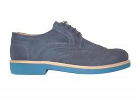 EXTON 9190 Scarpa Camoscio Blu