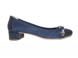HL 1037 Ballerina Camoscio Blu