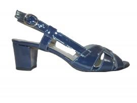 MIRADA Sandalo vernice blu