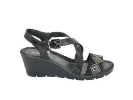 ENVAL SOFT 1283100 Sandalo Vernice Nero