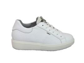 IGI&CO 1148711 Sneaker Pelle Bianco