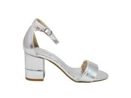 XTI 30672 Sandalo Metallizzato Argento