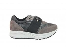 IGI&CO 2149411 Sneaker Gioiello Camoscio Grigio