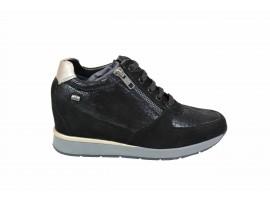VALLEVERDE 36501 Sneaker Camoscio Nero