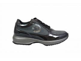 CARLA KOTE X19 Sneaker Vernice Grigio