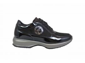 CARLA KOTE X19 Sneaker Vernice Nero