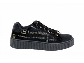 LAURA BIAGIOTTI 5203 Sneaker Camoscio Nero
