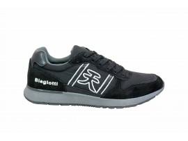 LAURA BIAGIOTTI 5271 Sneaker Pelle Tessuto Nero