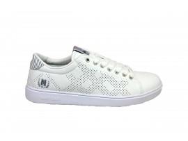 NAVIGARE 918030 Sneaker Pelle Bianco