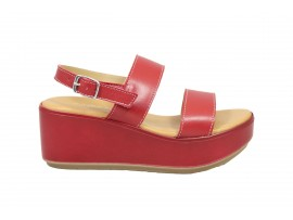 CINZIA SOFT 62994 Sandalo Pelle Rosso