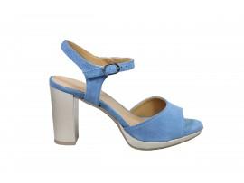 DESIREE 91116 Sandalo Camoscio Azzurro