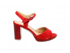 DESIREE 91116 Sandalo Camoscio Rosso