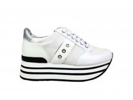 LUMBERJACK 58105 Sneaker Pelle Bianco