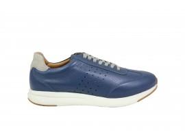 LUMBERJACK 62505 Sneaker Pelle Blu