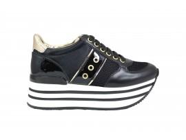 LUMBERJACK 58105 Sneaker Pelle Nero