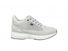 LUMBERJACK 01305 Sneaker Camoscio Bianco