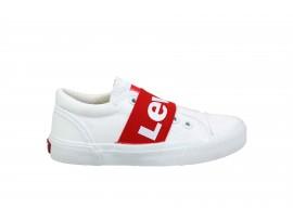 LEVI'S Bermuda Elastic Sneaker Bianco