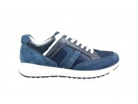 IGI&CO 3125400 Sneaker Nabuk Blu
