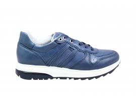 IGI&CO 3127300 Sneaker Pelle Blu