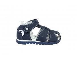 MELANIA 0811 Sandalo Nabuk Blu