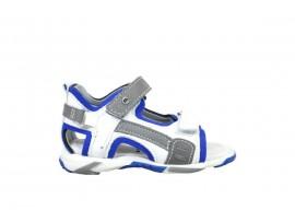 MELANIA 8000 Sandalo Pelle Grigio