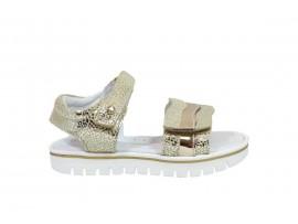MELANIA 4030 Sandalo Pelle Oro