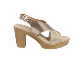 CINZIA SOFT 63001 Sandalo Pelle Beige