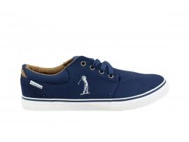 US GOLF CLUB 808 Sneaker Tela Blu