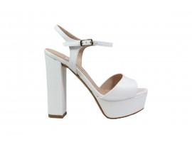 L'AMOUR 920 Sandalo Pelle Bianco