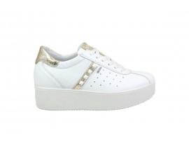 IGI&CO 3155811 Sneaker Pelle Bianco