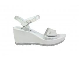 IGI&CO 3174155 Sandalo Pelle Argento