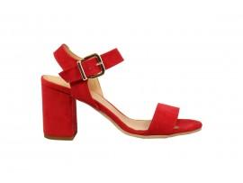 ADELE 8882 Sandalo Camoscio Rosso