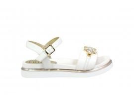 LIU JO 20278 Sandalo Pelle Bianco