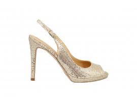 ADELE 2181 Sandalo Pelle Oro