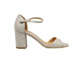 ADELE 8883 Sandalo Pelle Beige