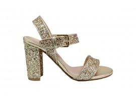 L'AMOUR 928 Sandalo Glitter Platino