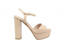 L'AMOUR 920 Sandalo Vernice Nudo