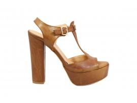 ADELE 5606 Sandalo Pelle Cuoio