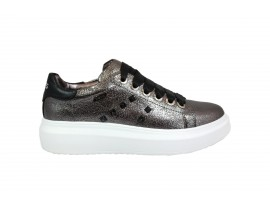 KEYS K148 Sneaker Pelle Silver