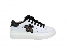KEYS K150 Sneaker Pelle Bianco
