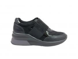 ENERGY 12 Sneaker Camoscio Nero